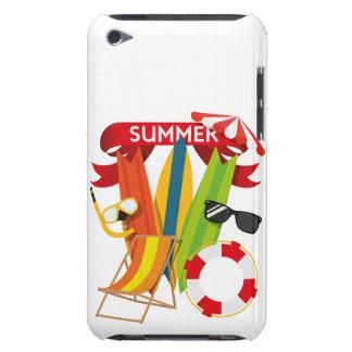 Capa Para iPod Touch Praia Watersports do verão