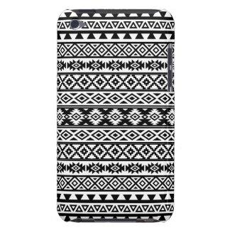 Capa Para iPod Touch Preto & branco estilizados astecas do teste padrão