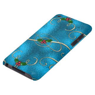 Capa Para iPod Touch Redemoinhos modernos & à moda do Natal