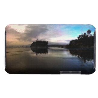 Capa Para iPod Touch Reflexão do por do sol da praia do rubi
