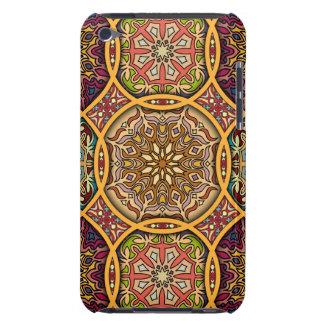 Capa Para iPod Touch Retalhos do vintage com elementos florais da