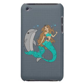 Capa Para iPod Touch Sereia com golfinho