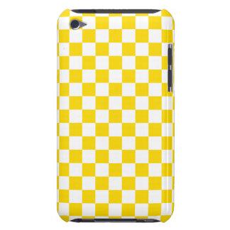 Capa Para iPod Touch Tabuleiro de damas amarelo