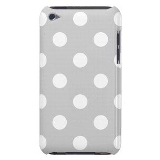 Capa Para iPod Touch Teste padrão de bolinhas cinzento
