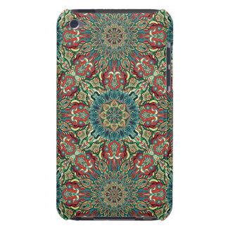 Capa Para iPod Touch Teste padrão floral étnico abstrato colorido da