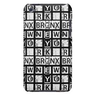 Capa Para iPod Touch Tipografia do Grunge de Bronx New York |