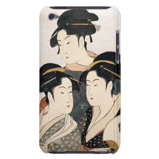 Capa Para iPod Touch Três belezas conhecidas