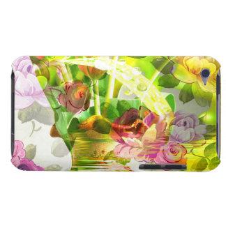 Capa Para iPod Touch Uma outra cena bonita das flores - arte misturada!