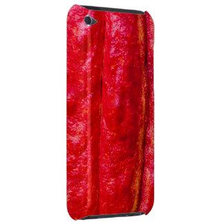 Capa Para iPod Touch vermelho do vagem do cacau