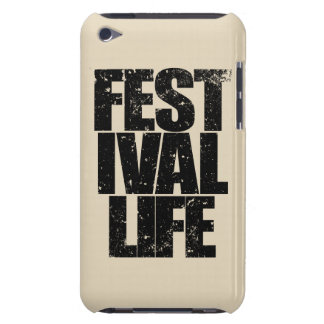 Capa Para iPod Touch VIDA do FESTIVAL (preto)