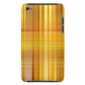Capa Para iPod Touch Xadrez amarela