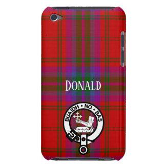Capa Para iPod Touch Xadrez e crista orgulhosas de MacDougall