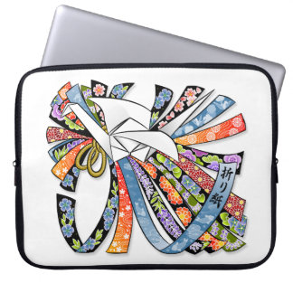 Capa Para Laptop 折り紙 de Noshi da boa sorte de papel japonês do