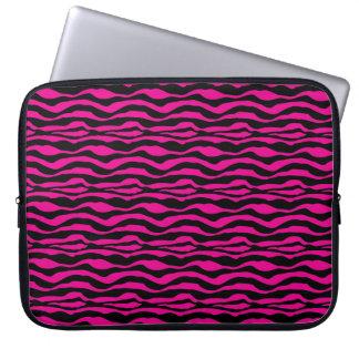 Capa Para Laptop A bolsa de laptop animal do impressão da zebra