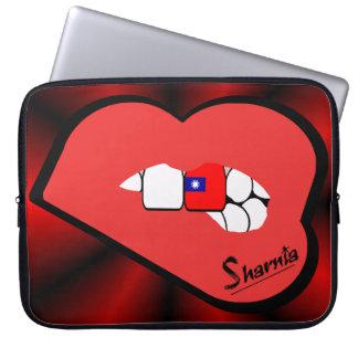 Capa Para Laptop A bolsa de laptop de Formosa dos lábios de Sharnia