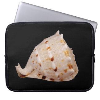 Capa Para Laptop A bolsa de laptop de Shell do Conch