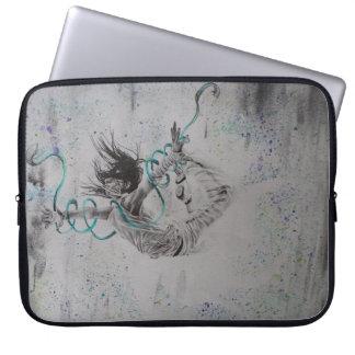 Capa Para Laptop A bolsa de laptop do computador do dançarino da