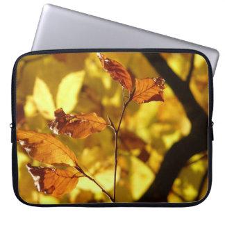 Capa Para Laptop A bolsa de laptop do impressão da foto das folhas