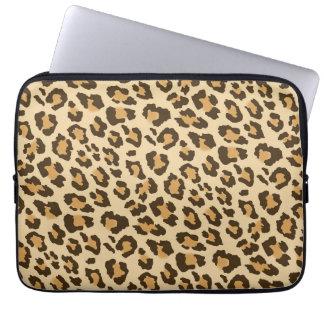 Capa Para Laptop A bolsa de laptop do impressão do leopardo
