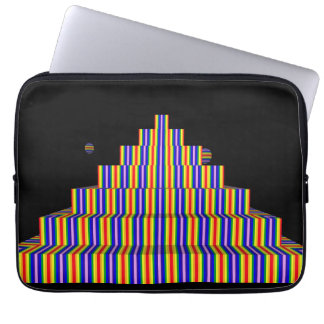 Capa Para Laptop A bolsa de laptop do neopreno da PIRÂMIDE do