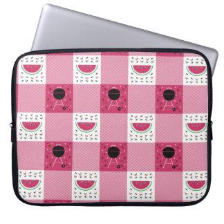 Capa Para Laptop A bolsa de laptop do piquenique do verão