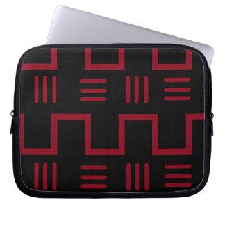 Capa Para Laptop A bolsa de laptop étnica de pano da lama