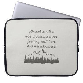 Capa Para Laptop A bolsa de laptop rústica do ar livre da aventura