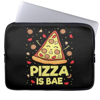 Capa Para Laptop A pizza é Bae - desenhos animados engraçados