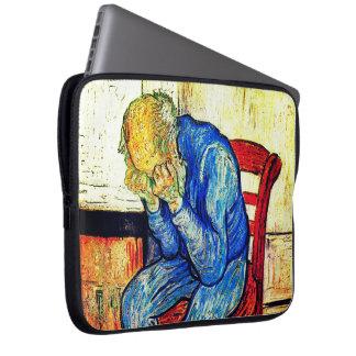 Capa Para Laptop Ancião Sorrowing por Van Gogh