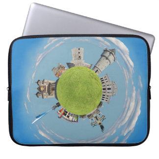 Capa Para Laptop architec minúsculo de romania do planeta do