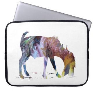 Capa Para Laptop Arte da cabra