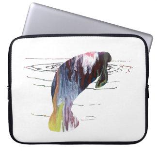 Capa Para Laptop Arte do peixe-boi