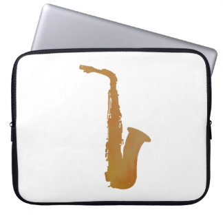 Capa Para Laptop Arte do saxofone