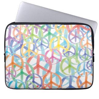 Capa Para Laptop Arte do sinal de paz