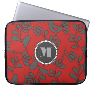 Capa Para Laptop Arte popular húngara personalizada