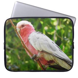Capa Para Laptop Australiano Galah - Cockatoo róseo