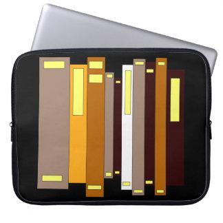 Capa Para Laptop Biblioteca dos livros que aprende a leitura da