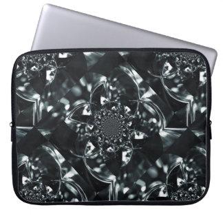 Capa Para Laptop Caleidoscópio claro de cristal