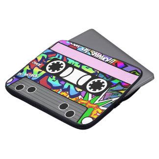 Capa Para Laptop Cassete de banda magnética Customisable