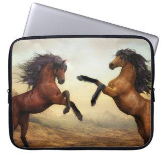 Capa Para Laptop cavalos