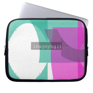 Capa Para Laptop design do código do imagepng () na bolsa de laptop