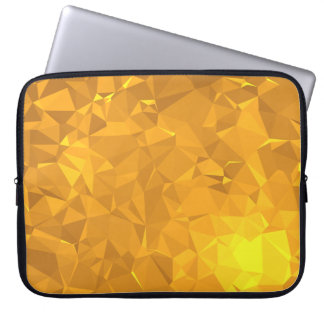 Capa Para Laptop Design geométrico elegante & limpo - Citrine
