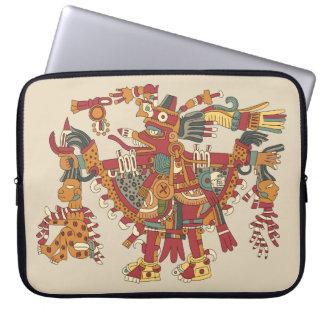 Capa Para Laptop Deus asteca
