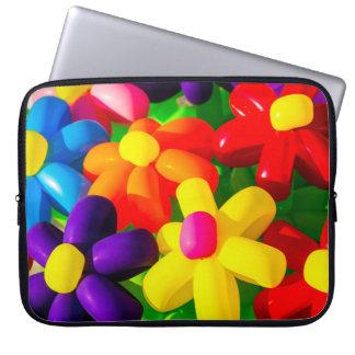 Capa Para Laptop Flores de balão do brinquedo