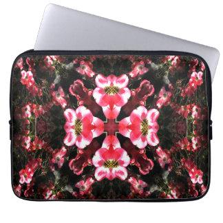 Capa Para Laptop Flores de meu coração…