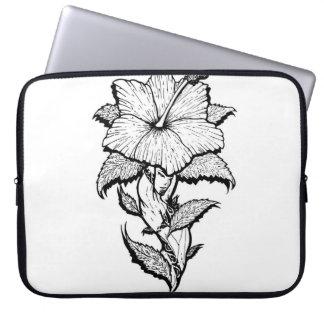 Capa Para Laptop Florista