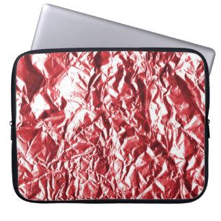 Capa Para Laptop Folha vermelha #1