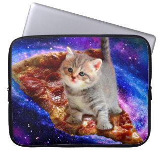 Capa Para Laptop gato da pizza - gatos bonitos - gatinho - gatinhos