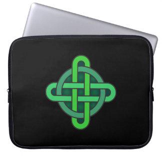 Capa Para Laptop gre irlandês pagão do símbolo antigo celta de