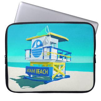 Capa Para Laptop Hut. de Miami Beach